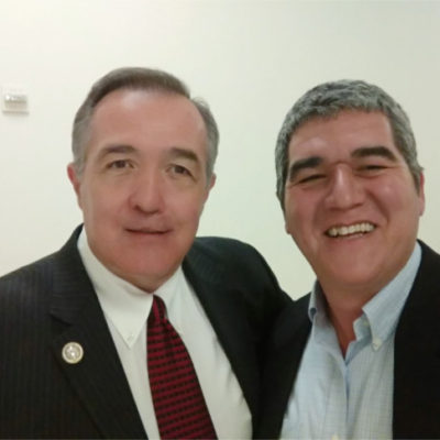 David Ha'ivri with Congressman Trent Franks (R-AZ) Washington DC March 2017