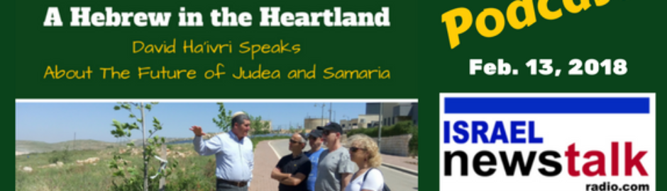 Two Hilltops- A Hebrew in the Heartland Feb. 13 David Ha'ivri